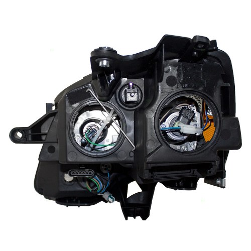 small resolution of 07 12 gmc acadia passengers halogen headlight assembly blue tinted rh everydayautoparts com gmc acadia headlight assembly removal gmc acadia headlight