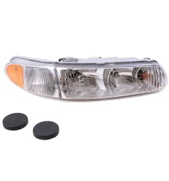 buick century regal passengers headlight assembly with corner lamp everydayautoparts com [ 1000 x 1000 Pixel ]