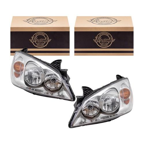 small resolution of 05 10 pontiac g6 new pair set headlight headlamp lens housing assembly dot