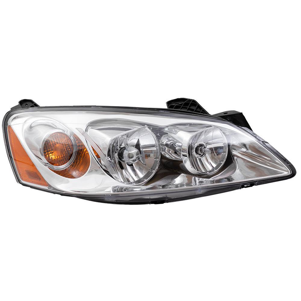 hight resolution of  05 10 pontiac g6 new pair set headlight headlamp lens housing assembly dot