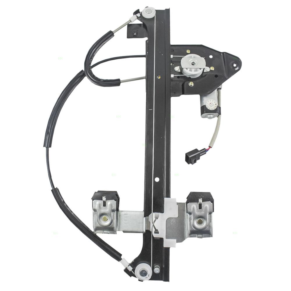 hight resolution of picture of 02 09 gmc envoy power window regulator w motor rear rh 02