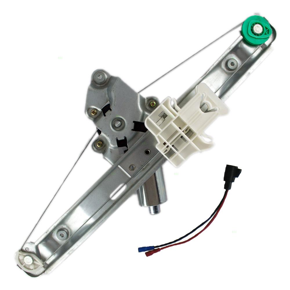 hight resolution of 05 10 pontiac g6 drivers rear power window lift regulator with motor assembly everydayautoparts com