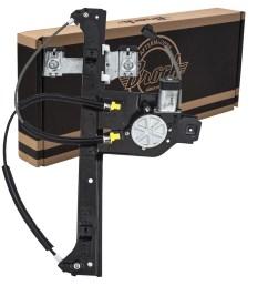 picture of 02 06 cv trailblazer ext power window regulator w motor rear lh [ 1000 x 1000 Pixel ]