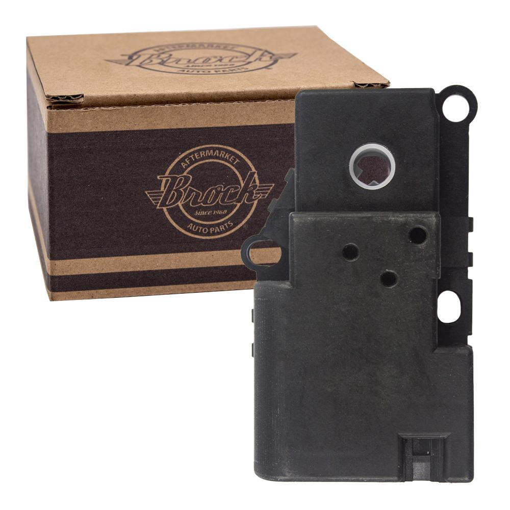 medium resolution of picture of 02 09 cv trailblazer hvac air door actuator temperature mode rear