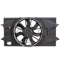 05 10 chevrolet cobalt 07 09 pontiac g5 2 2l new radiator cooling fan [ 1000 x 1000 Pixel ]