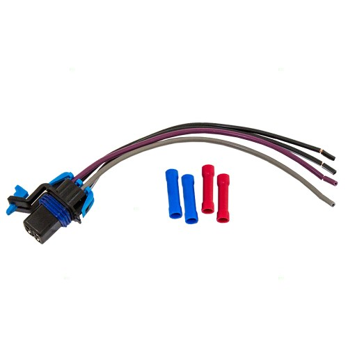 small resolution of brock supply gm fuel pump wiring harness square connector 96 00 iz hombre