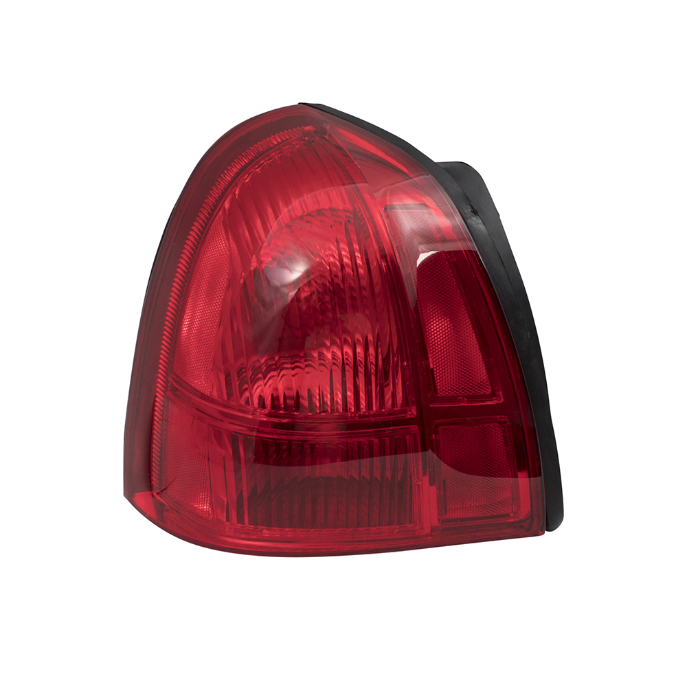 hight resolution of  03 08 lincoln town car drivers taillight assembly