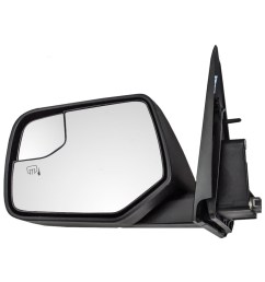 ford escape mercury mariner hybrid new drivers power side view mirror blind spot glass housing  [ 1000 x 1000 Pixel ]