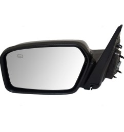 autoandart com 06 10 ford fusion mercury milan new drivers power side view mirror heated puddle lamp assembly [ 1000 x 1000 Pixel ]