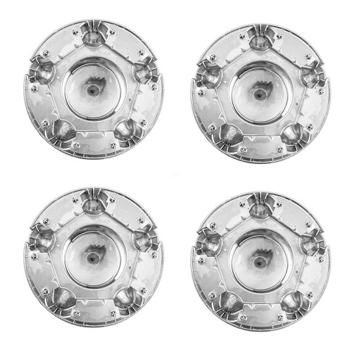 small resolution of  picture of 97 03 fd f150 hub cap chrome 4pcs set w 5