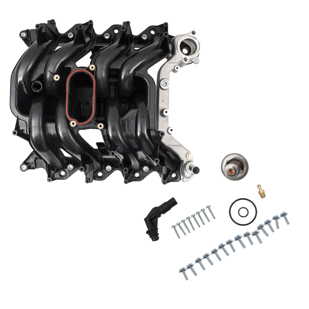 hight resolution of picture of 00 14 fd e series 5 4l intake manifold w thermostat