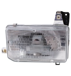 autoandart com 87 95 nissan pathfinder 86 97 nissan pickup new drivers headlight headlamp assembly dot [ 1000 x 1000 Pixel ]