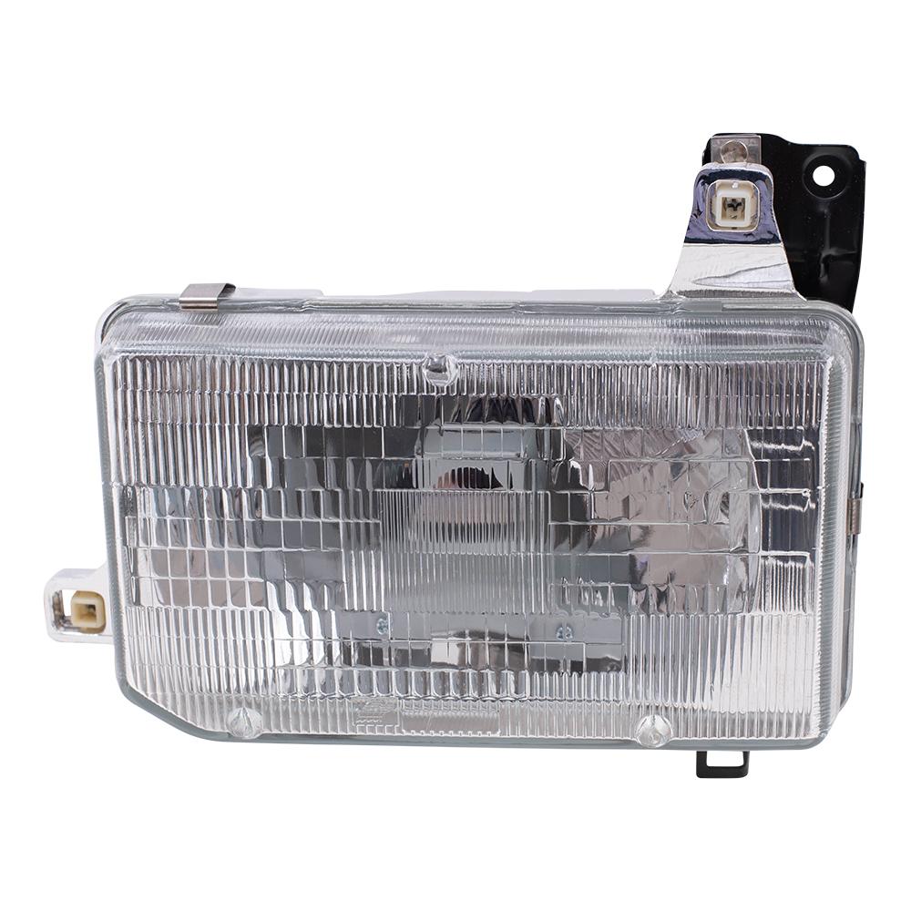 hight resolution of autoandart com 87 95 nissan pathfinder 86 97 nissan pickup new drivers headlight headlamp assembly dot