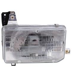 brock supply 87 95 ns pathfinder headlamp assy rh 88 89 ns pickup w composite headlamp [ 1000 x 1000 Pixel ]