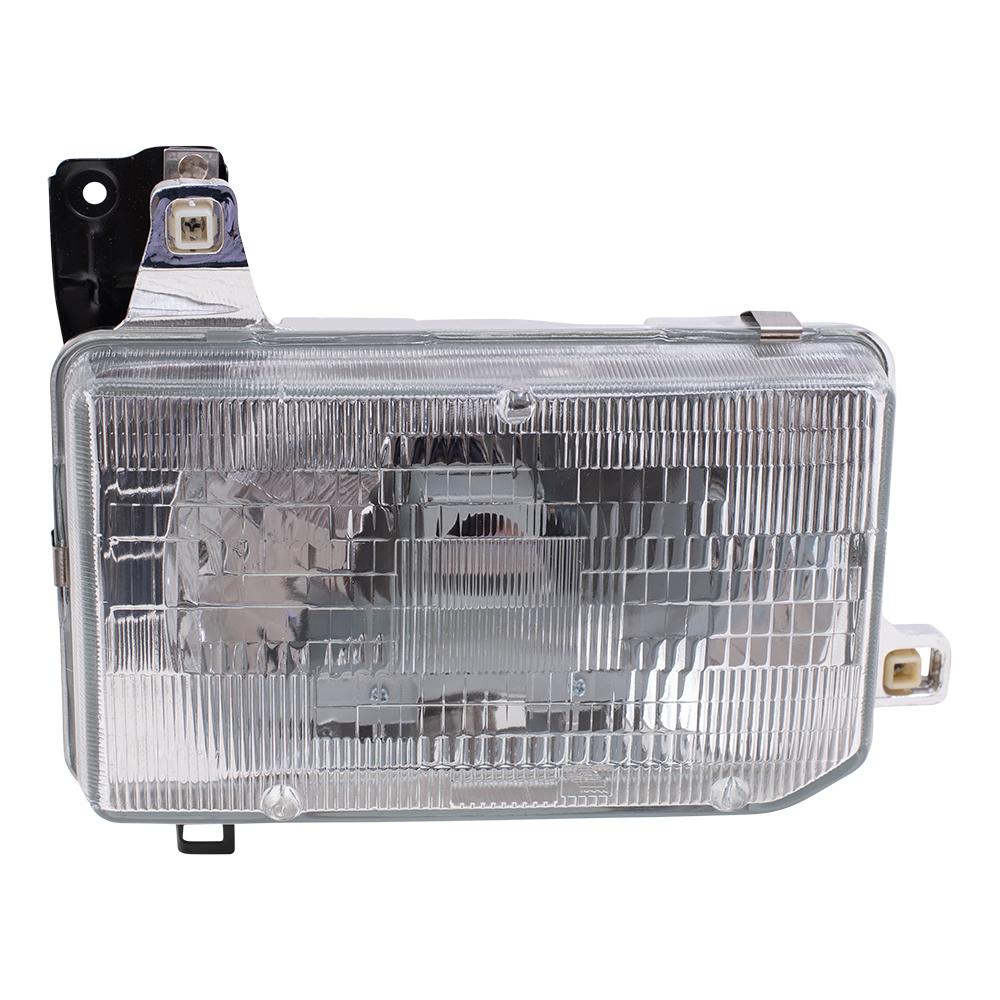 hight resolution of brock supply 87 95 ns pathfinder headlamp assy rh 88 89 ns pickup w composite headlamp