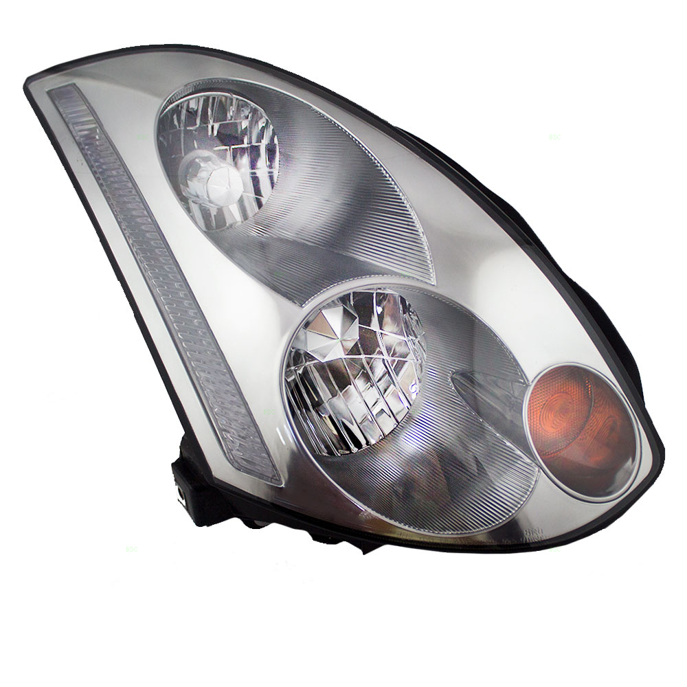 medium resolution of brock supply 03 05 in g35 coupe hid combination headlamp assy rh w o hid kit