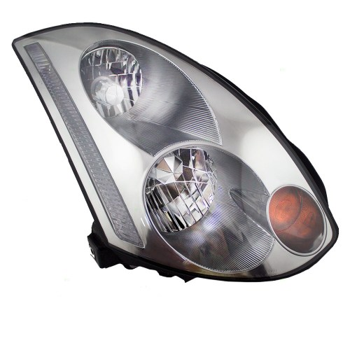 small resolution of brock supply 03 05 in g35 coupe hid combination headlamp assy rh w o hid kit