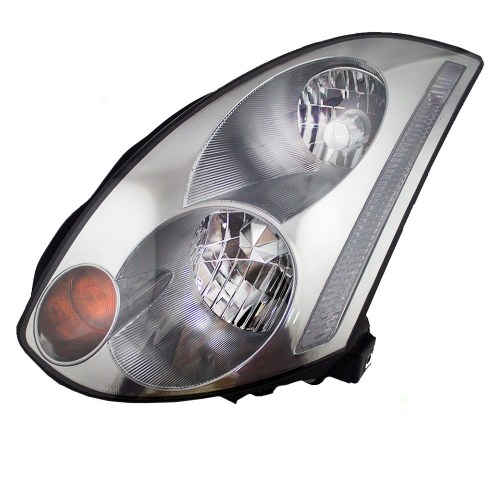 small resolution of brock supply 03 05 in g35 coupe hid combination headlamp assy lh w o hid kit