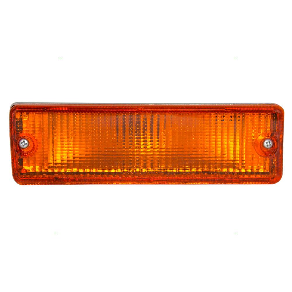 medium resolution of 86 87 nissan pickup truck e se xe passengers front park signal marker light assembly everydayautoparts com