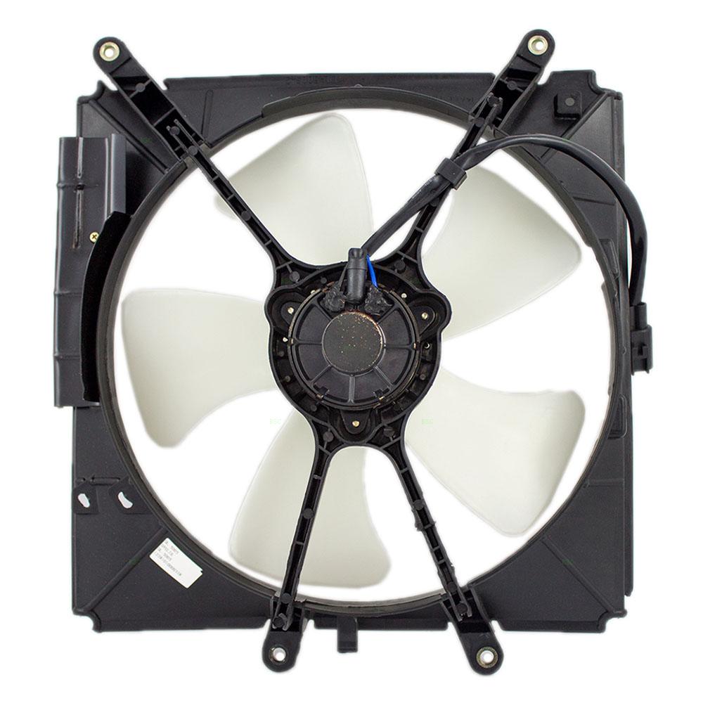 hight resolution of  93 97 toyota corolla geo prizm radiator cooling fan motor assembly