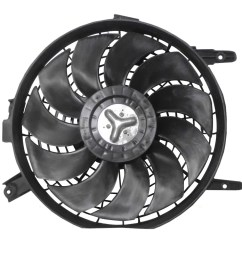 picture of 93 97 ty corolla condenser fan assy from 5 95 96  [ 1000 x 1000 Pixel ]
