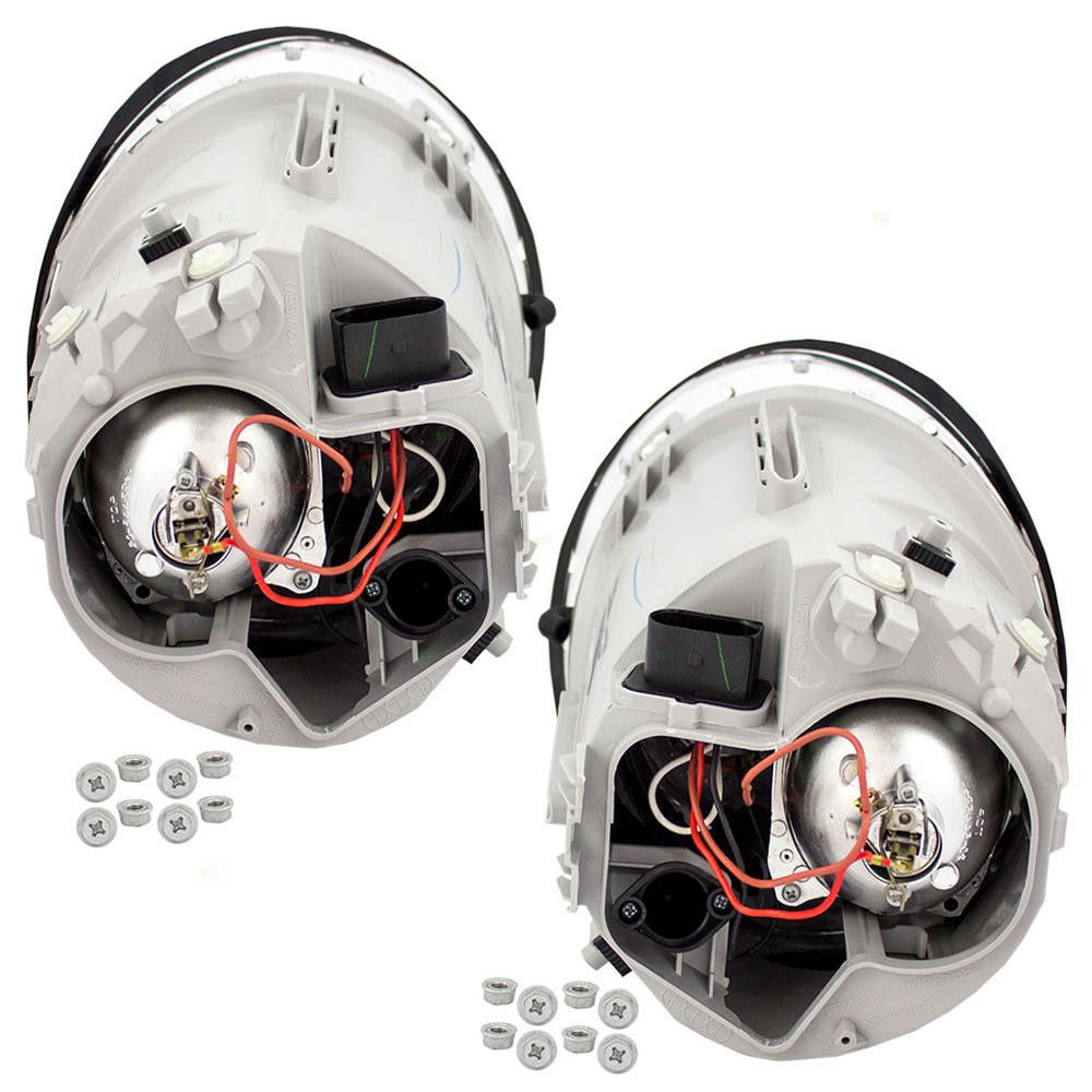 vw beetle transmission diagram car stereo wiring autoandart.com - 02-04 volkswagen turbo s new pair set halogen headlight headlamp lens ...