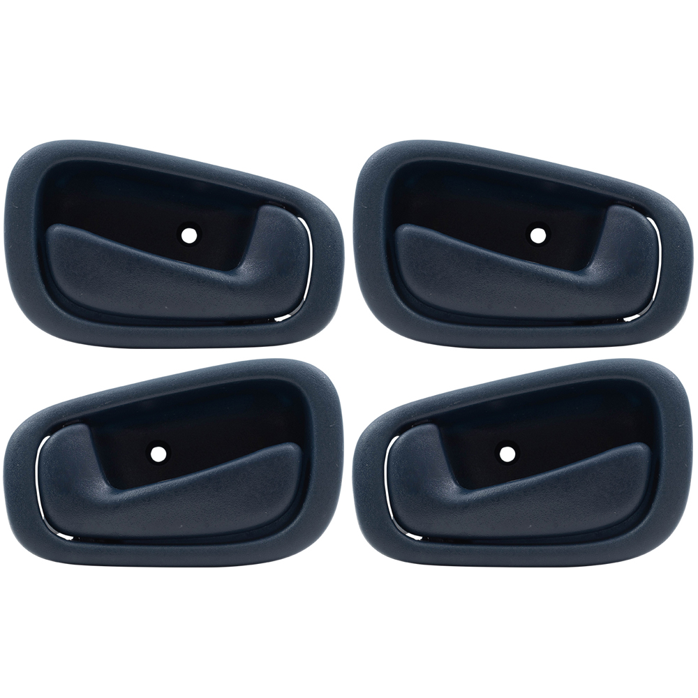 medium resolution of 98 02 chevrolet prizm toyota corolla 4 pc set of blue inside interior door handles everydayautoparts com
