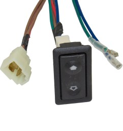 universal 2 door pickup truck suv van car flat design power window switch kit w  [ 1000 x 1000 Pixel ]