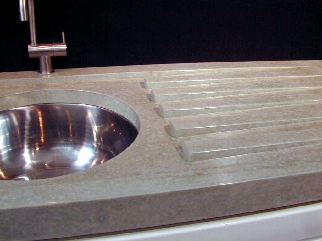 Concrete Countertop Detail Images  Brooks Custom