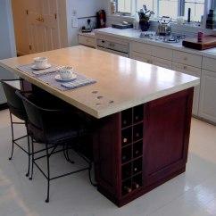 Kitchen Island Countertops Honest Zeal Verdicrete Concrete Brooks Custom