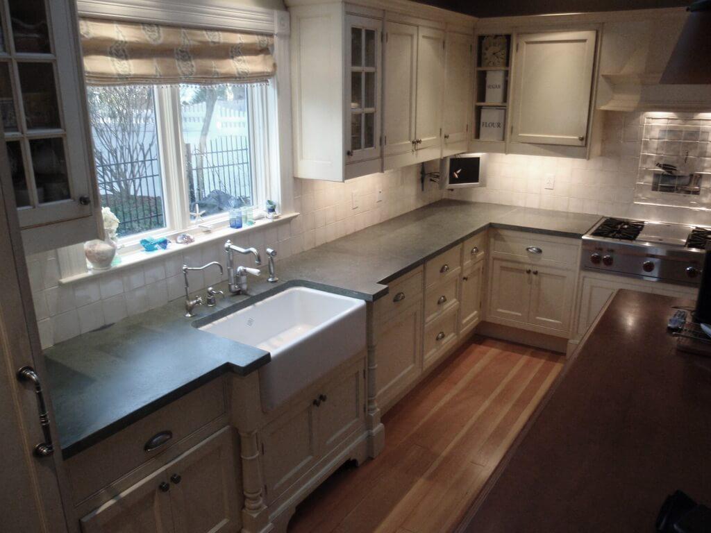 ready made island for kitchen inexpensive backsplash verdicrete concrete countertops - brooks custom