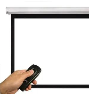Моторизованные проекционные экраны