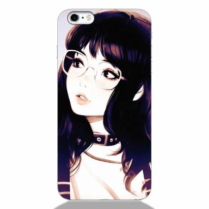 Cute Korean Girl iPhone 6 Back Cover