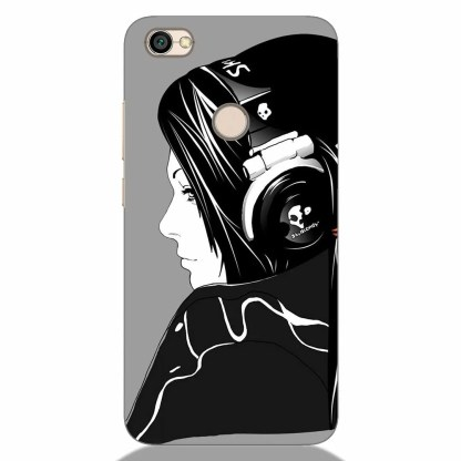 Music Lover Girls Xiaomi Redmi Y1 Back Cover