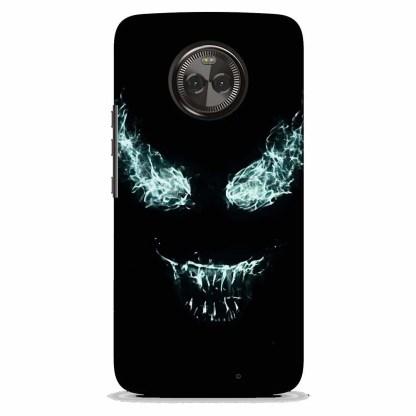 Venom Face Motorola X4 Back Cover