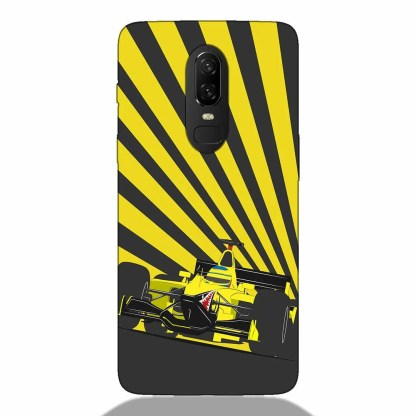 F1 Car One Plus 6 Back Cover