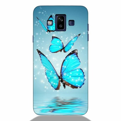 Sparking Butterfly Samsung J7 Duos 2018 Back Cover
