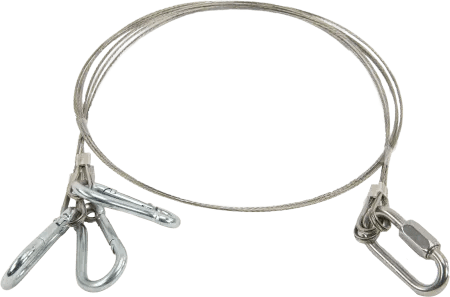 L26917: Stainless-Steel Cable Suspension Harness for Water