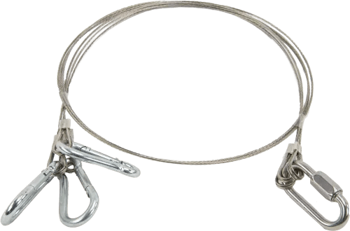 26917: Stainless-Steel Cable Suspension Harness for Water