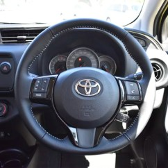 Toyota Yaris Trd Sportivo 2018 Price Cara Ganti Klakson Grand New Avanza Review Sx Auto Carsguide The Leather Trimmed Steering Wheel Has A Nice Feel To It Image Credit