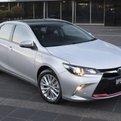 All New Camry Specs Interior Agya Trd 2017 Toyota Commemorative Edition Pricing And Spec Confirmed S Is Based On The Flagship Atara Sl Hybrid But Gains A Black