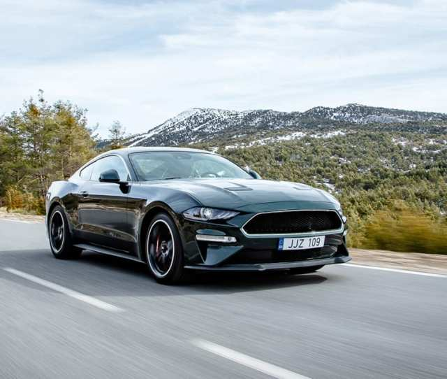 The Gt Fastback Bullitt Celebrates The Th Anniversary Of The Iconic Steve Mcqueen Action Film