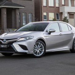 All New Camry Australia Velg Yaris Trd Toyota 2018 Review Carsguide Sl Hybrid Pictured