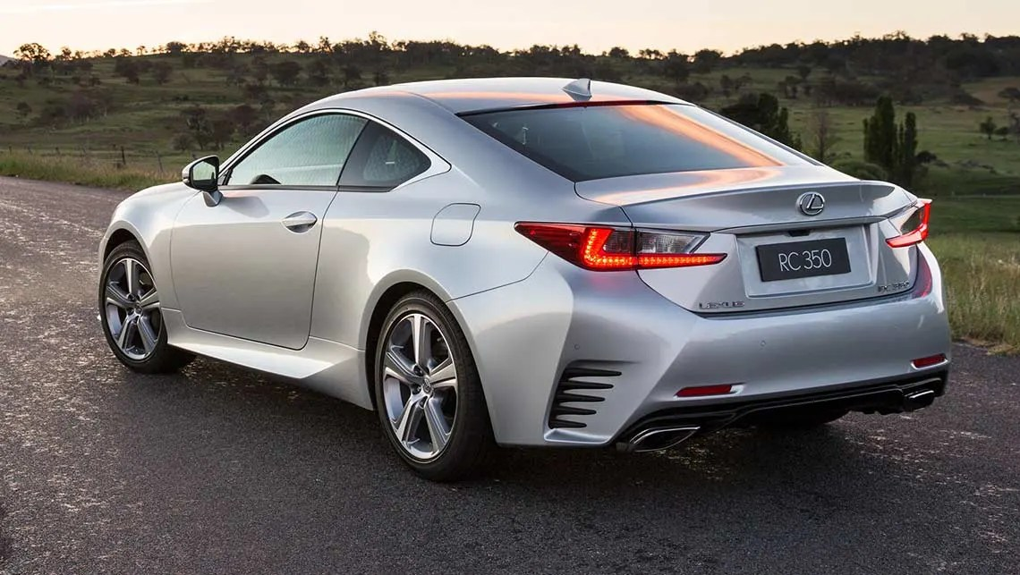 Lexus Rc 350 2015 Review Carsguide
