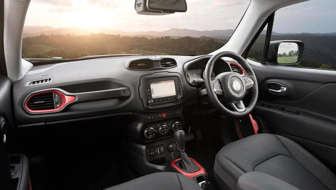 Jeep Renegade Dash