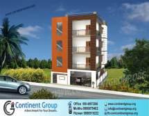 House 3 Floors Building Elevation Design