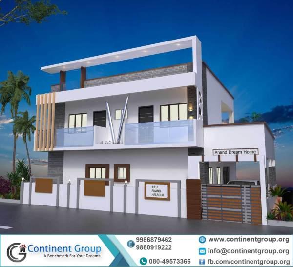 Project Elevation-3d Floor Plan-interior Design