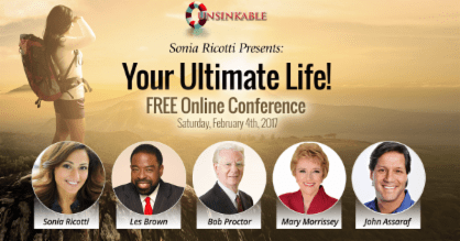Your Ultimate Life! with Sonia Ricotti and others... 1 Your Ultimate Life! with Sonia Ricotti and others...