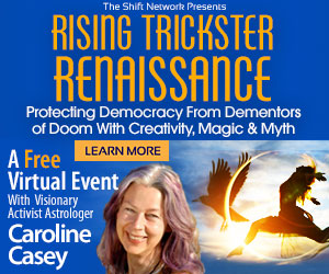 Caroline Casey's  and the Trickster: wild antidotes FREE from the ShiftNetwork 1 Caroline Casey's  and the Trickster: wild antidotes FREE from the ShiftNetwork