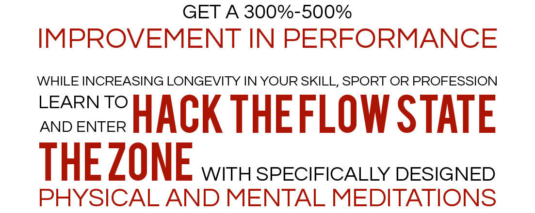 Hack the Flow State! Get  in the Zone! 1 Hack the Flow State! Get  in the Zone!